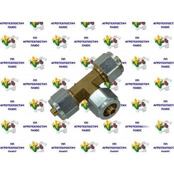 Аварійне з'єднання T-подібне ф=10х10х10 (метал)