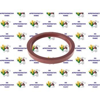 Манжета КамАЗ (160 с пруж.) колінчастого валу задня 105х130х12 фетр.с млс. кришкою